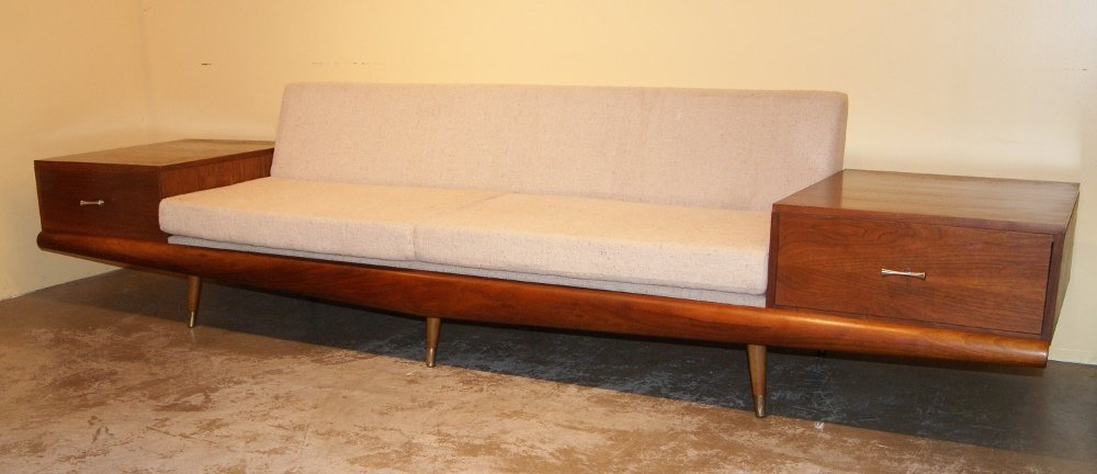 Adrian Pearsall Large Two Drawer Sofa